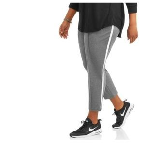 Athletic Works Womens Plus Active Track Pants
